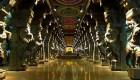 The beautifully sculptured corridor, Madurai